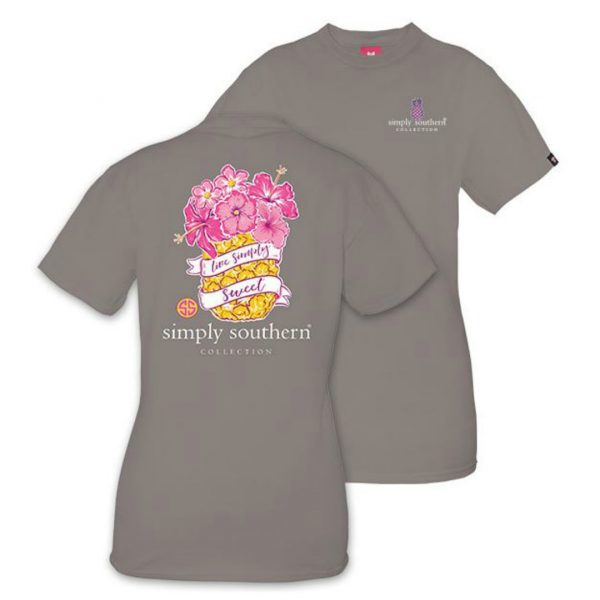 SIMPLY SOUTHERN PREPPY PINEAPPLE TSHIRT