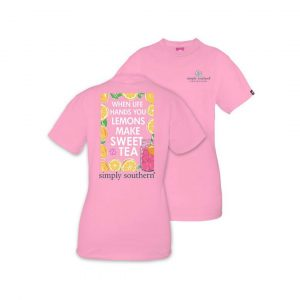SIMPLY SOUTHERN PREPPY SWEET TEA TSHIRT