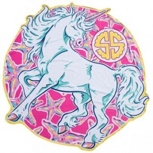 SIMPLY SOUTHERN UNICORN TOWEL