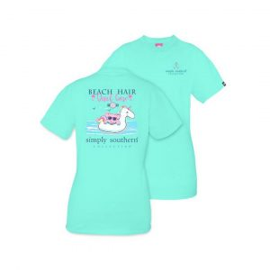 SIMPLY SOUTHERN YOUTH PREPPY BEACH FLOAT TSHIRT
