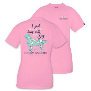 SIMPLY SOUTHERN YOUTH PREPPY MY DOG TSHIRT