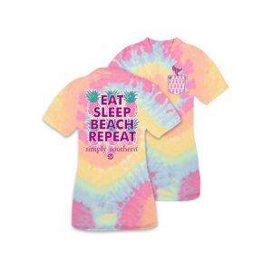 SIMPLY SOUTHERN YOUTH PREPPY REPEAT TSHIRT