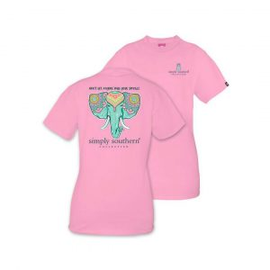 SIMPLY SOUTHERN YOUTH PREPPY SPARKLE TSHIRT