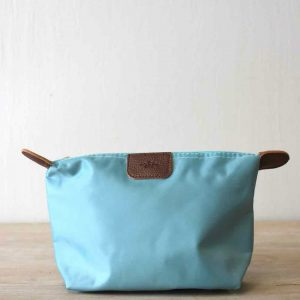 SMALL WINTERMINT NYLON COSMETIC POUCH