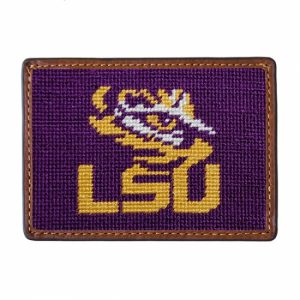 SMATHERS AND BRANSON LSU CREDIT CARD WALLET