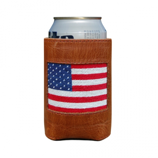 SMATHERS & BRANSON AMERICAN FLAG COOZIE
