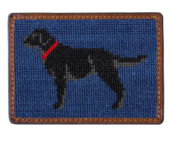 SMATHERS & BRANSON BLACK LAB CARD WALLET