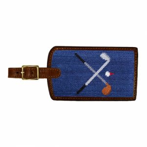 SMATHERS & BRANSON CROSSED CLUB LUGGAGE TAG