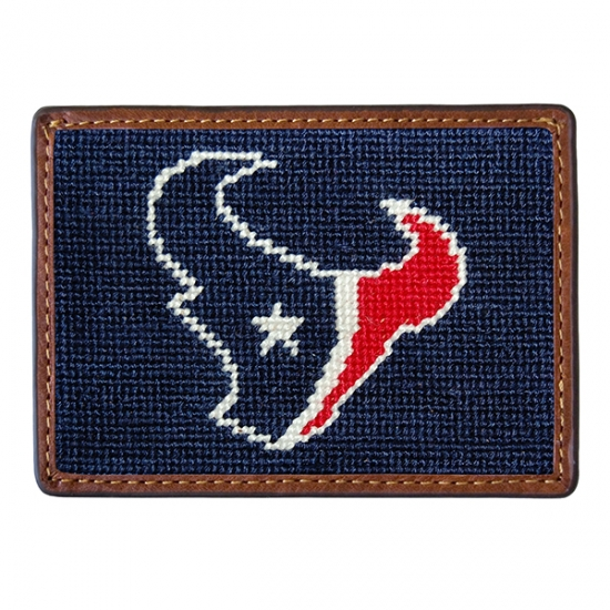 SMATHERS & BRANSON HOUSTON TEXANS CREDIT CARD WALLET