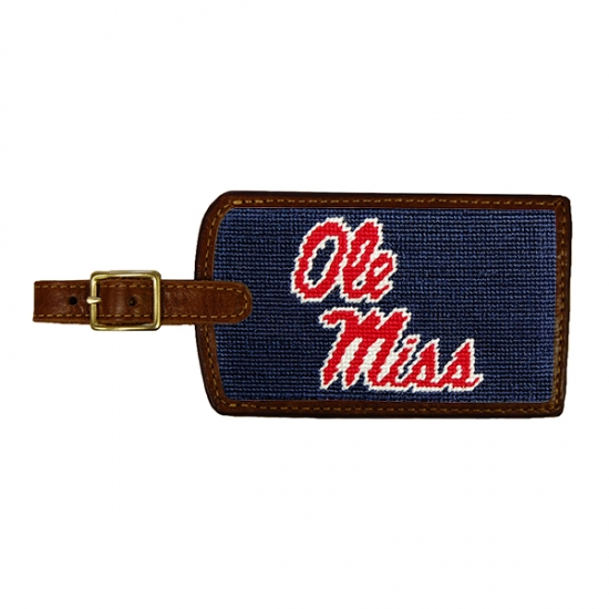 SMATHERS & BRANSON OLE MISS LUGGAGE TAG