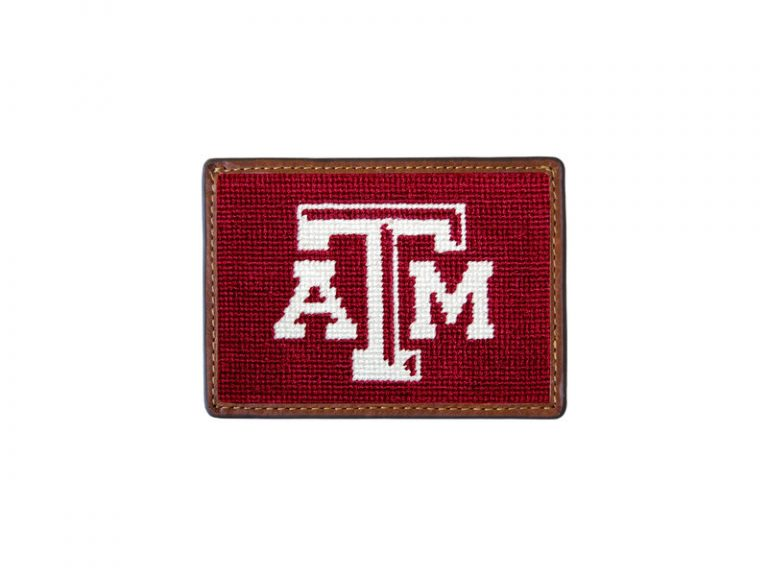 SMATHERS & BRANSON TEXAS A&M CARD WALLET