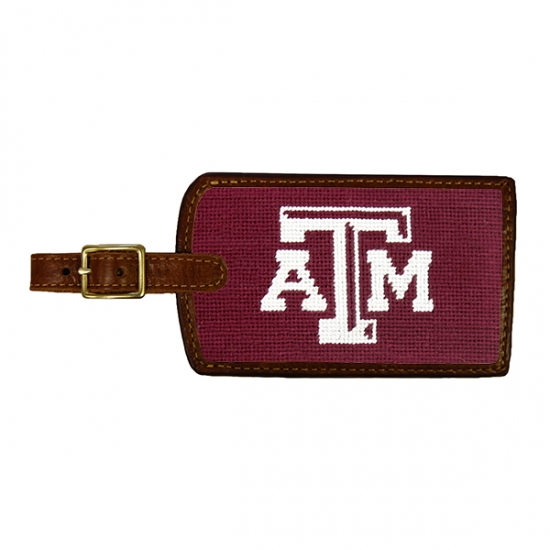 SMATHERS & BRANSON TEXAS A&M LUGGAGE TAG