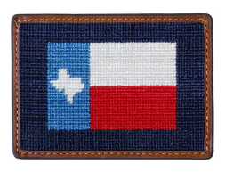 SMATHERS & BRANSON TEXAS FLAG CARD WALLET