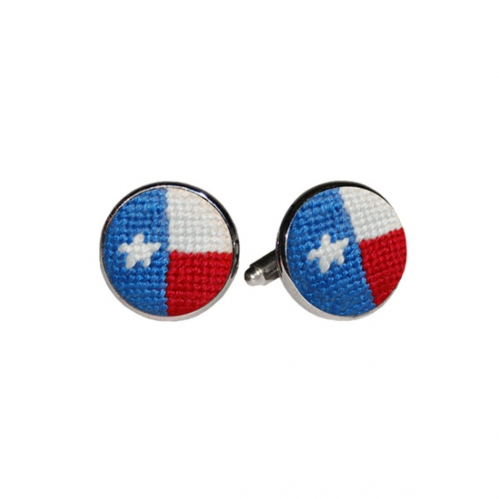SMATHERS & BRANSON TEXAS FLAG CUFF LINKS