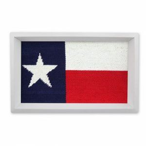 SMATHERS & BRANSON TEXAS FLAG VALET TRAY