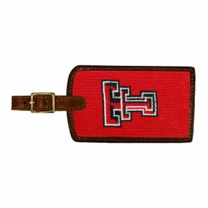 SMATHERS & BRANSON TEXAS TECH LUGGAGE TAG