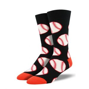 SOCKSMITH OUT TO THE BALLGAME SOCKS