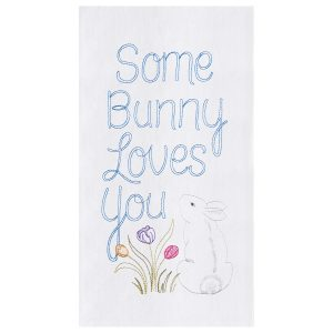 SOME BUNNY LOVES YOU TOWEL