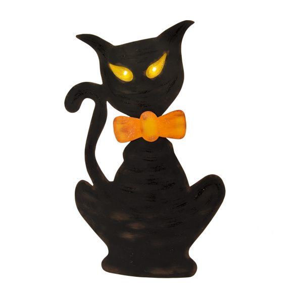 SPOOKY CAT LIGHT UP
