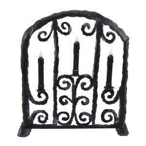 SPOOKY GATE CANDELABRA
