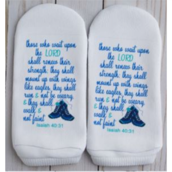 STANDING ON THE WORD SOCKS - ISAIAH 40:31