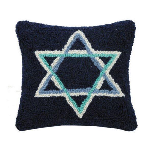 STAR OF DAVID HOOK PILLOW