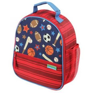 STEPHEN JOSEPH ALL OVER LUNCHBOX - SPORTS