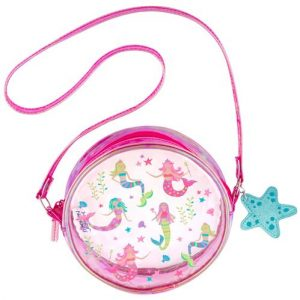 STEPHEN JOSEPH MERMAID CLEAR CROSSBODY PURSE
