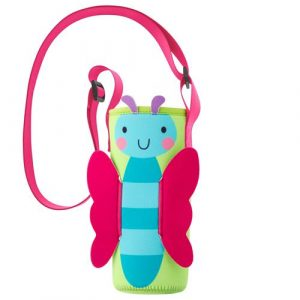 STEPHEN JOSEPH NEOPRENE BOTTLE BUDDY BUTTERFLY
