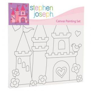 STEPHEN JOSEPH PRINCESS CASTLE CANVAS