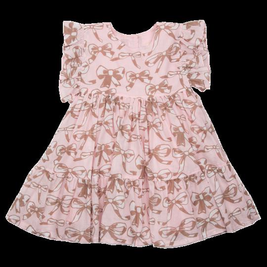 STRAWBERRY CREAM BOW KIT DRESS