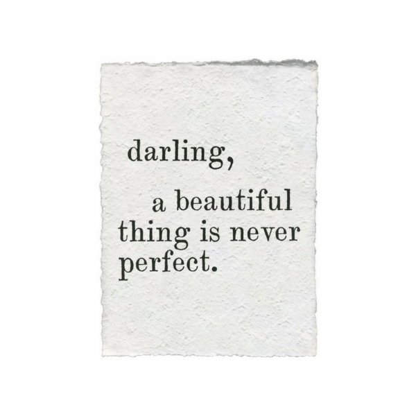 SUGARBOO DARLING A BEAUTIFUL THING PAPER PRINT