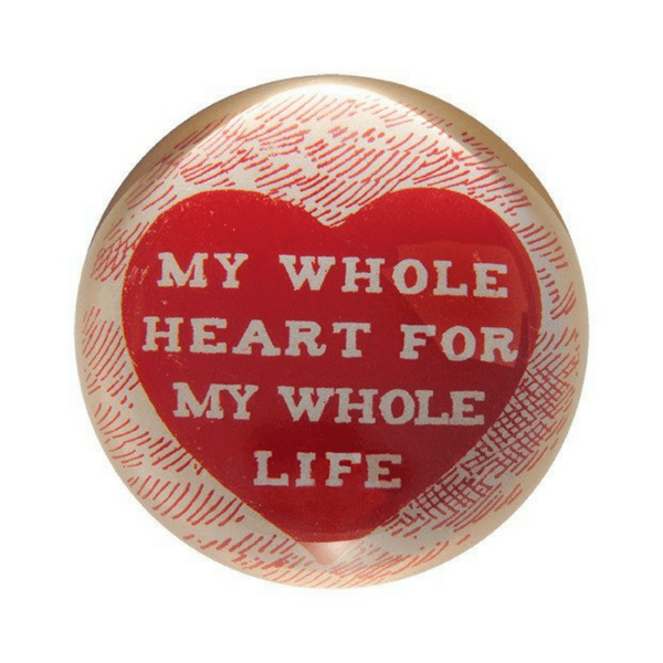 SUGARBOO DESIGNS PAPER WEIGHT - MY WHOLE HEART