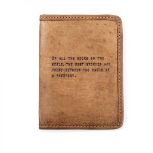 SUGARBOO PASSPORT COVER - OF ALL THE BOOKS IN THE WORLD
