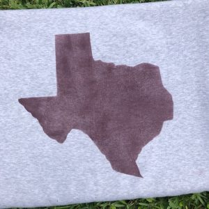 SWEATSHIRT COLLEGIATE TEXAS BLANKET