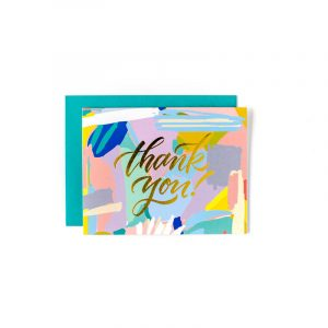 SWEET CAROLINE DESIGNS ABSTRACT THANK YOU CARDS
