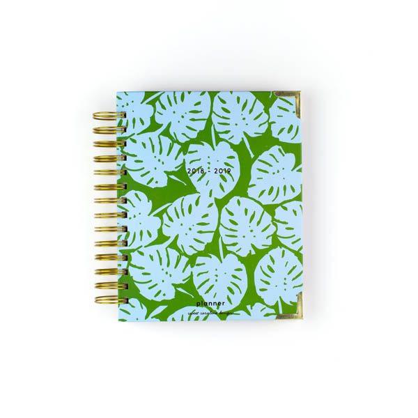SWEET CAROLINE DESIGNS BLUE GREEN PALM PLANNER