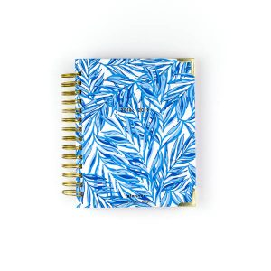 SWEET CAROLINE DESIGNS BLUE LEAFY PLANNER