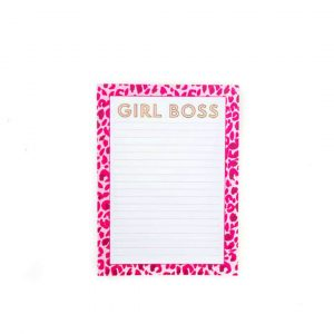 SWEET CAROLINE DESIGNS GIRL BOSS NOTEPAD
