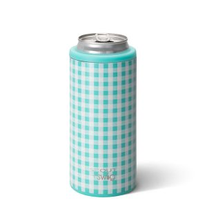 SWIG BARNABY CHECKHAM 12OZ SKINNY CAN COOLER