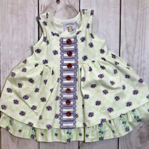 SWOON BABY WHITE BUTTON DRESS