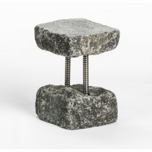TALL STONE STAND FOR BEVERAGE DISPENSER