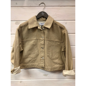 OAT NY TAN CROPPED JACKET