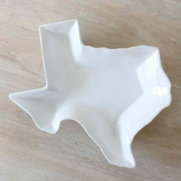 TEXAS SHAPED PLATTER