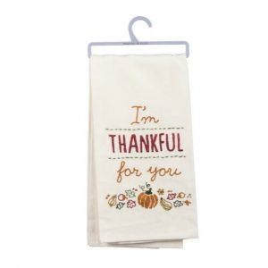 THANKFUL FOR YOU DISH TOWEL