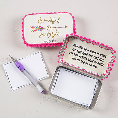 THANKFUL & GRATEFUL PRAYER BOX
