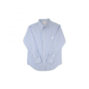 THE BEAUFORT BONNET COMPANY DEANS LIST DRESS SHIRT - PARK CITY PERIWINKLE