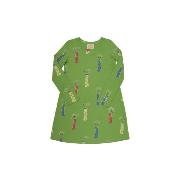 THE BEAUFORT BONNET COMPANY LONG SLEEVE POLLY PLAY DRESS - IVEBEN SPOTTED