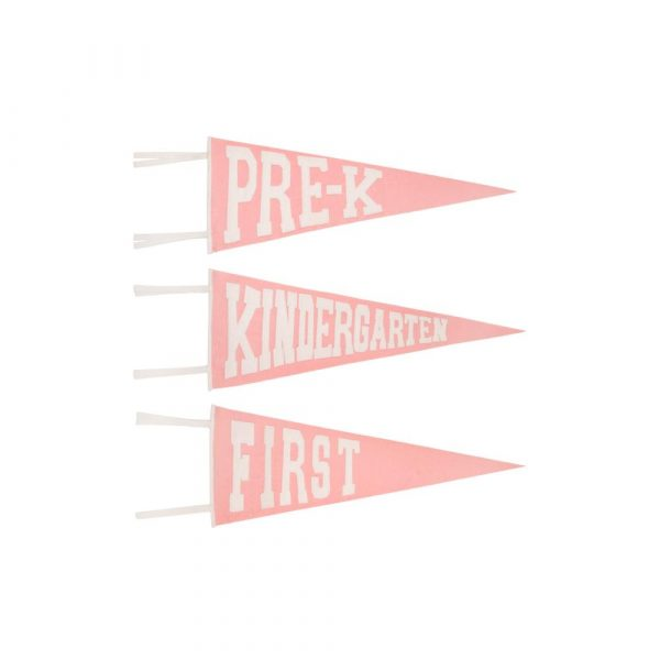 THE BEAUFORT BONNET COMPANY PINK PICTURE PENNANT