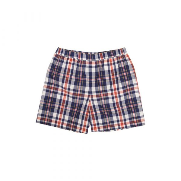 THE BEAUFORT BONNET COMPANY PLANTERS INN PLAID SHELTON SHORTS